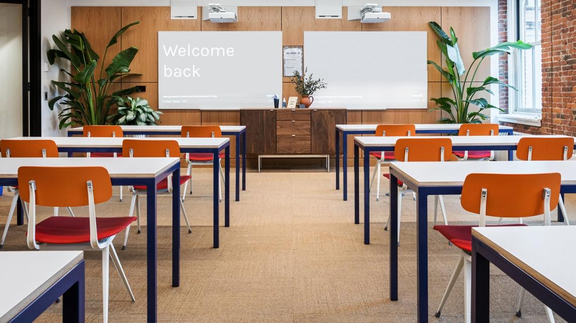 WeWork classroom